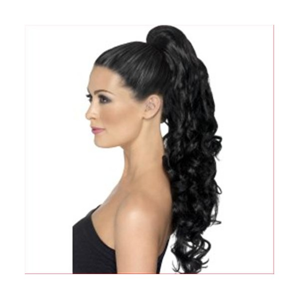 SM-Extensions-Blk-Long Curly