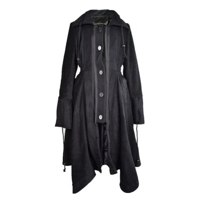 Poizen Industries Black Angel Coat
