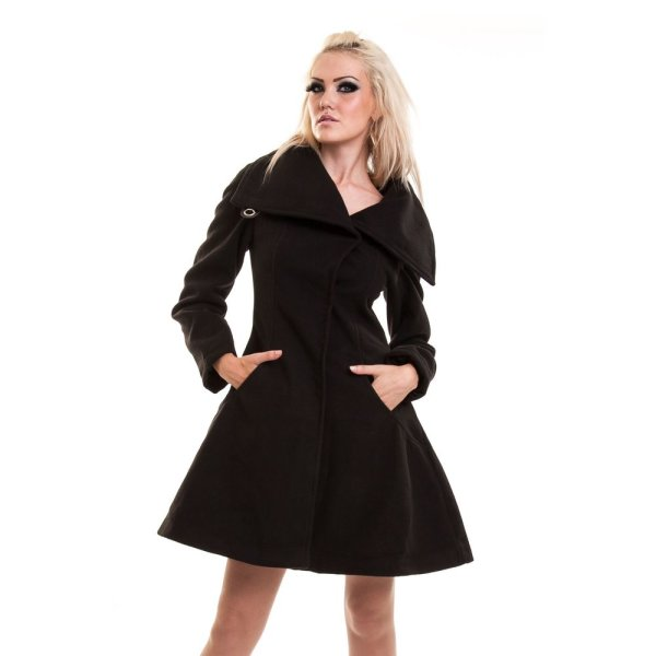 Vixxsin Necromancer Coat blk