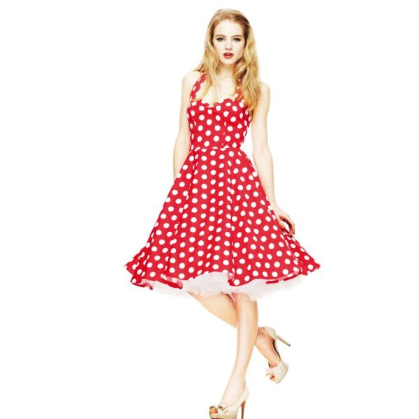 Hell Bunny Kleid red Mariam