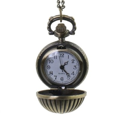 Steampunk Taschenuhr messing