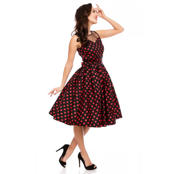 Dolly and Dotty Elizabeth Kleid Schwarz Rot