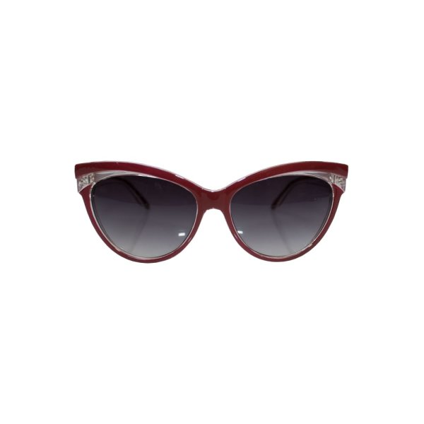 Sonnenbrille Judy Classic 50s Rot