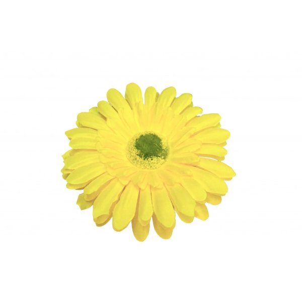 CO-HAARSPANGE-YELLOW-GERBERA