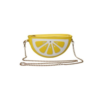 CO-Bag-yllw/wht-Lemon Slice