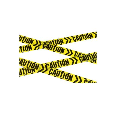 Caution-Chevron Tape 6m schwarz gelb