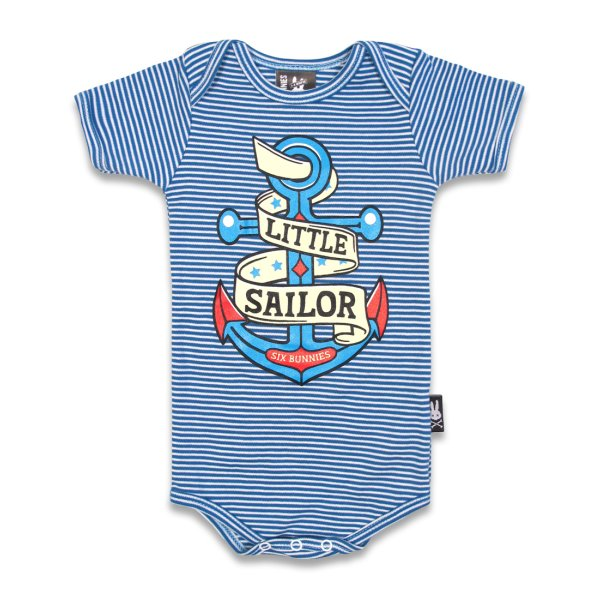 Babystrampler Little Sailor