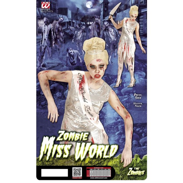 Kostüm Miss World Zombie