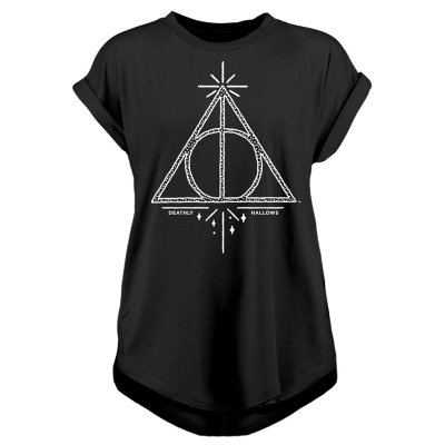 Harry Potter Frauenshirt  Deathly Hallows