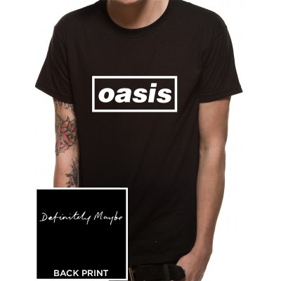 Oasis Shirt  Black Logo