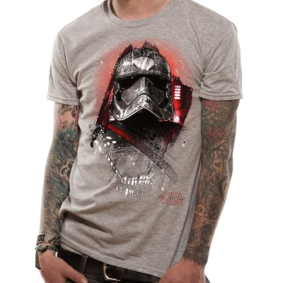 Star Wars Shirt  The Last Jedi grau