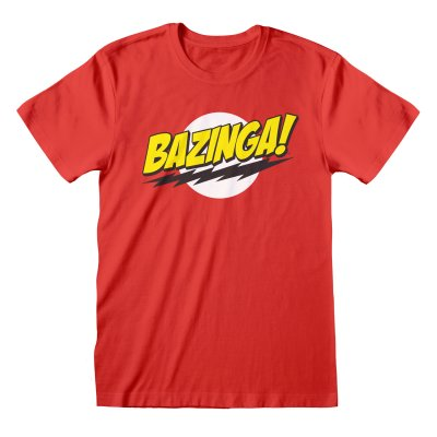Big Bang Theory Shirt  Bazinga rot