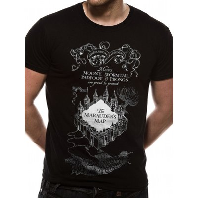 Harry Potter Shirt  Marauders Map schwarz