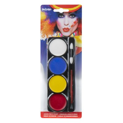 Aqua-Make-Up Palette Clown 4x4 g