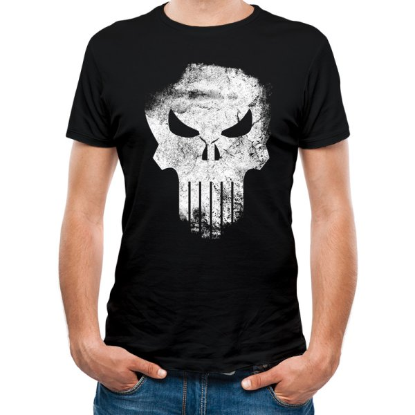 Marvel Knights  Punisher Distressed Skull