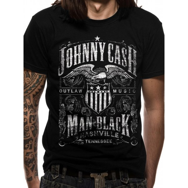 Johnny Cash Shirt   Label