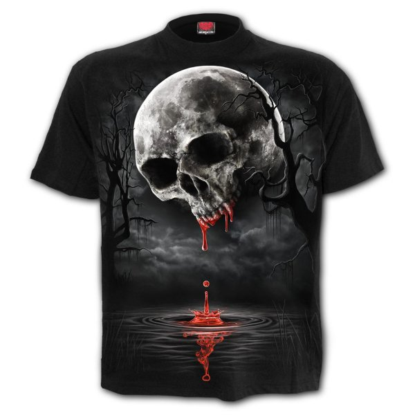 T-Shirt Death Moon  schwarz