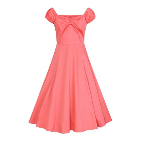 Dolores Doll Kleid Classic Cotton  Peach