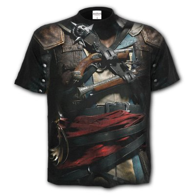 Assassins Creed IV T-Shirt  Black Flag