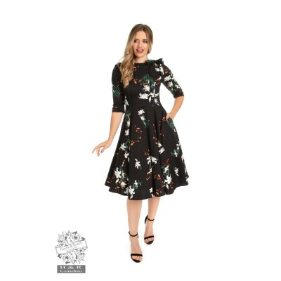 H&R Floral Swing-Kleid Diana Lilly