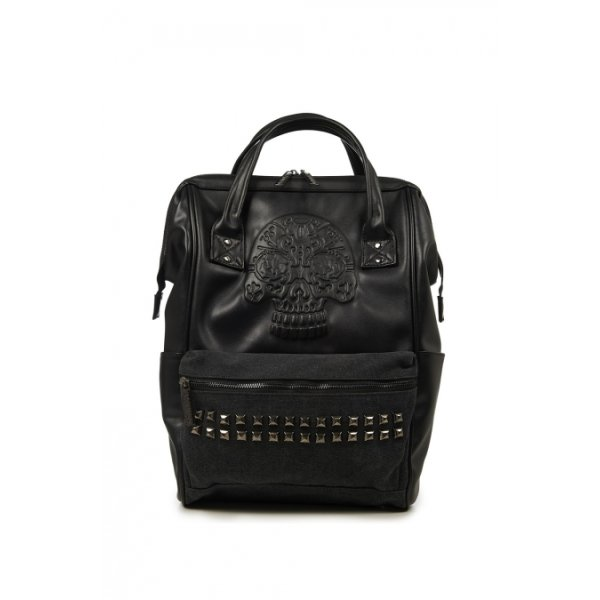 Banned Rucksack Androginy schwarz