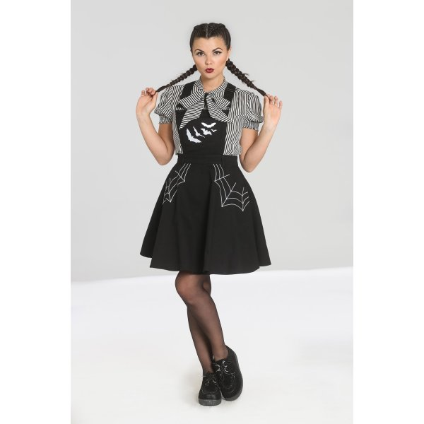 Hell Bunny Miss Muffet Pinafore Kleid