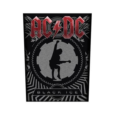 AC/DC Backpatch Black Ice schwarz grau rot