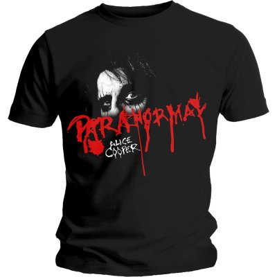 Alice Cooper Shirt Paranormal Eyes