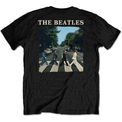 The Beatles Shirt Abbey Road beidseitig bedruckt