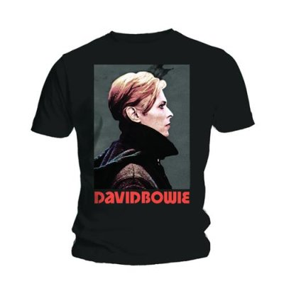 David Bowie Shirt Low Portrait