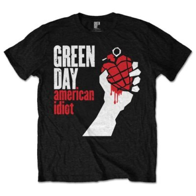 Green Day Shirt American Idiot