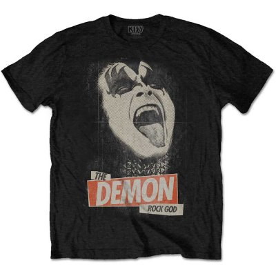 Kiss Shirt the demon rock