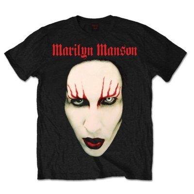 Marilyn Manson Shirt Red Lips