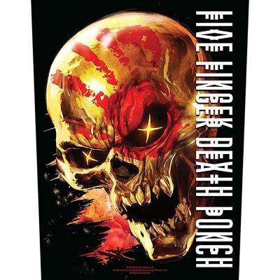 Five finger death punch Backpatch and justice for none...