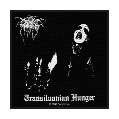 Darkthrone Transilvanian Hunger Standard Patch offiziell...