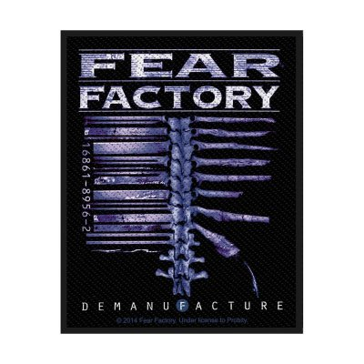 Fear Factory Demanufacture Standard Patch offiziell...