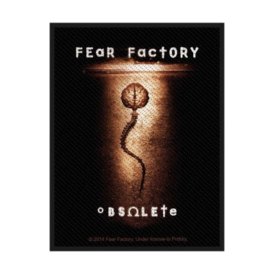 Fear Factory Obsolete Standard Patch offiziell...