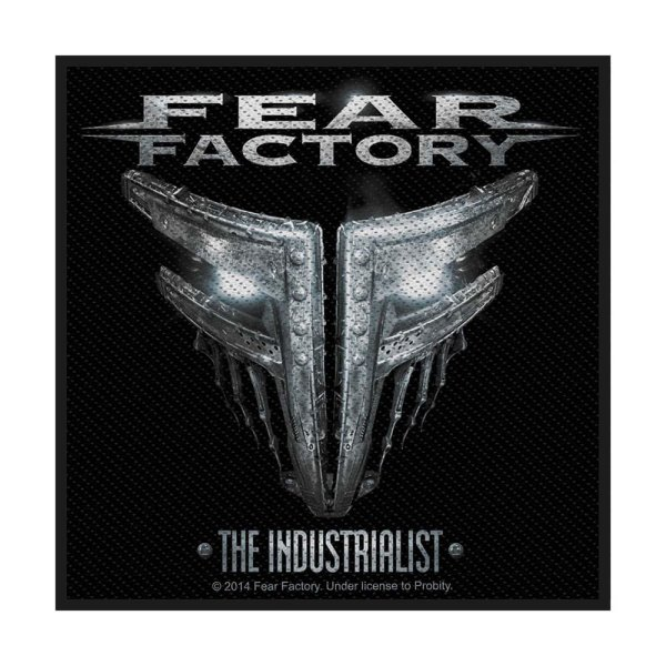 Fear Factory The Industrialist Standard Patch offiziell lizensierte Ware