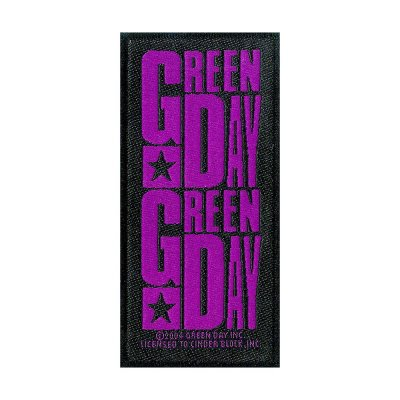 Green Day Purple Logo Standard Patch offiziell...