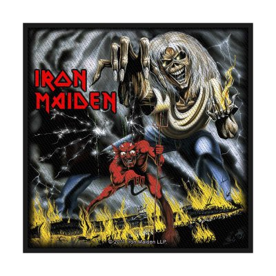 Iron Maiden Number Of The Beast Standard Patch offiziell...