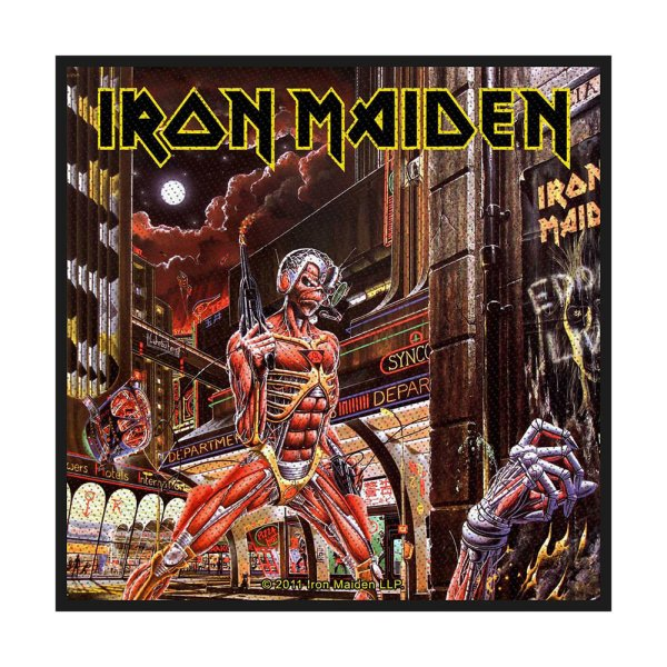 Iron Maiden Somewhere in Time Standard Patch offiziell lizensierte Ware