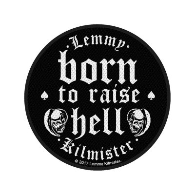 Lemmy Born To Raise Hell Standard Patch offiziell...
