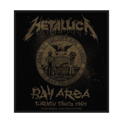 Metallica Bay Area Thrash Standard Patch offiziell...