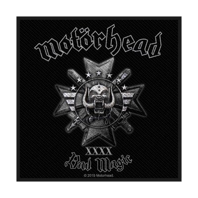 Motörhead Bad Magic Standard Patch offiziell lizensierte...
