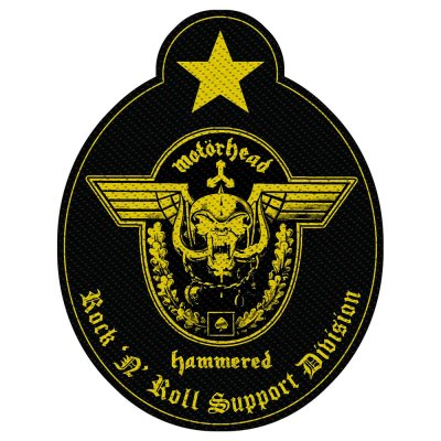 Motörhead Support Division Standard Patch offiziell...