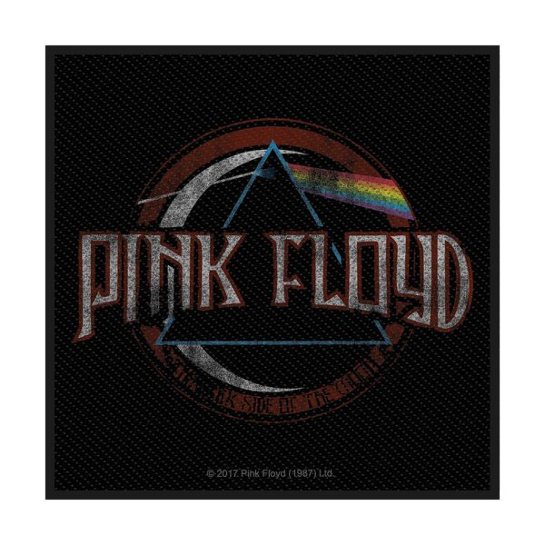 Pink Floyd Distress Dark Side Of The Moon Standard Patch offiziell lizensierte Ware