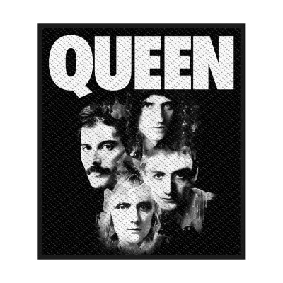 Queen Faces Standard Patch offiziell lizensierte Ware