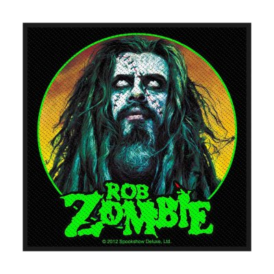 Rob Zombie Zombie Face Standard Patch offiziell...