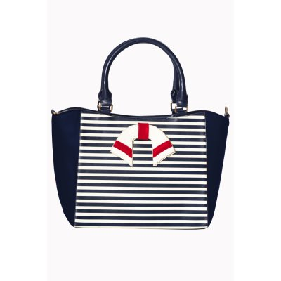 Banned Umhängetasche Vintage Nautical Navy