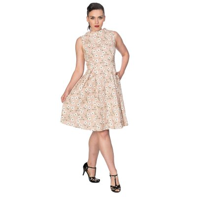 Banned Kleid Fresh Bloom Rosa